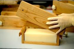 手作り石鹸型出し