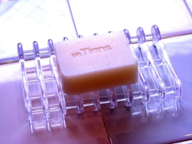 アンティアン手作り洗顔石鹸用石鹸置きソープサーバー角